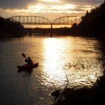Sunset Kayak on the American River